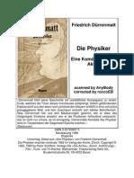 Duerrenmatt, Friedrich - Die Physiker