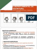 Proyecto Departamental de Escritura