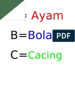 Belajar ABC