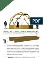 Scheda Tecnica Struttura Geodetica 2V 6metri Medio Profilo