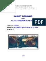 Utilizarea Aplicatiilor CAD_C. Paunescu-Moisi