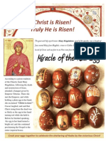 Pascha Red Eggs Orthodox Christian