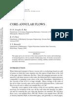 Core Annular Flows