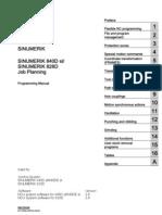 SINUMERIK SINUMERIK 840D sl/ SINUMERIK 828D Job Planning