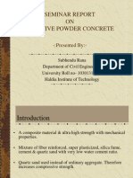 Reactive Powder Concrete presentation
