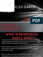 Reinforced Earth Wall Project