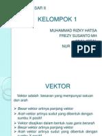 Klp 1 - Analisis Vektor, Hk. Coulomb, Dan Medan Listrik