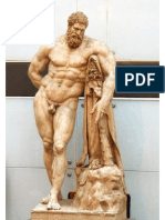 Anatomia Masculina Sobre Hercules Farnesio