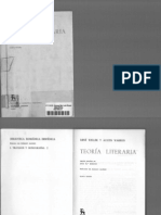 Wellek y Warren - Teoría literaria (Gredos)