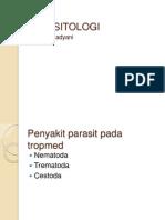 Parasit-Nematoda, Trematoda, Cestoda1