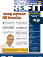 The Profit Newsletter for Atlanta REIA - May 2013
