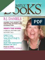 Medici Simply Books Feb 2013 issue