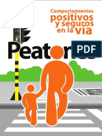 Cartilla Peatones