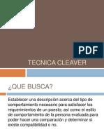 Tecnica+Cleaver