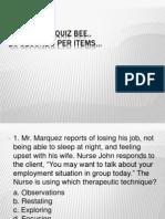 1-15 Group Quiz Bee