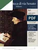 GIORDANO BRUNO, OVVERO IL GUSTO DELLA DISPUTA. Sulla copia praghese del Camoeracensis Acrotismus.