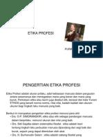 Etika Profesi (Pengertian)-Keteknikan