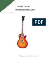 Dasar Dasar Bermain Gitar