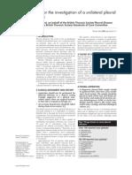 Pleura Disease Effusion