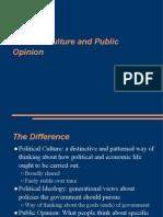 POL 111 -- Political Culture, Political Ideology, Public Opinion