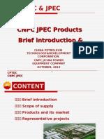 Brief Introduction of CNPC JPEC