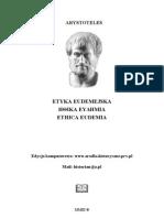 Arystoteles - Etyka Eudejmejska