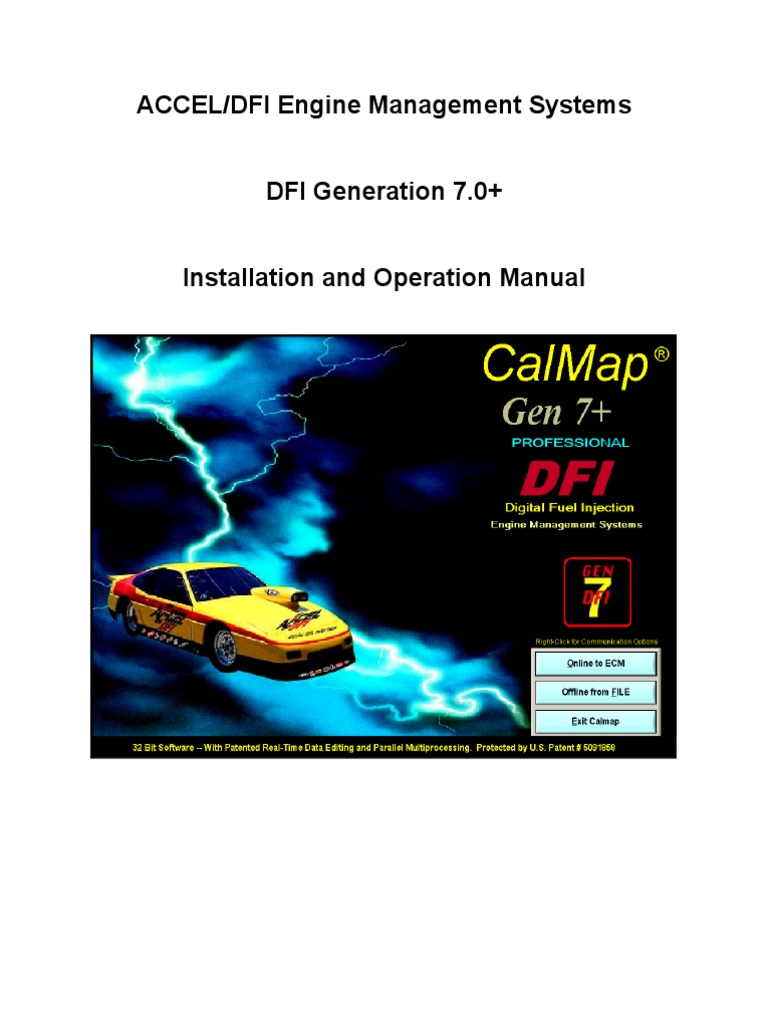 Dfi Gen 7 Plus Instructions Throttle Ignition System
