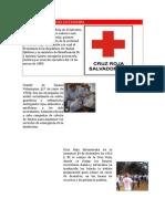 HISTORIA DE LA CRUZ ROJA SALVADOREÑA