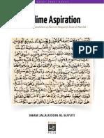 Sublime Aspiration [English]