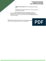 Boulder Medical Marijuana Change of Location Application Packet 11-28-12