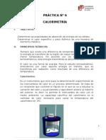 PRÁCTICA 6_CALORIMETRÍA