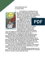 Rider Waite Tarot and the Sun Card