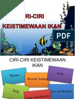 Ciri-ciri Keistimewaan Ikan