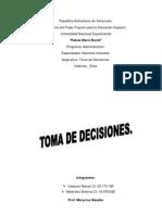 Toma de Decisiones (Unidad 4)