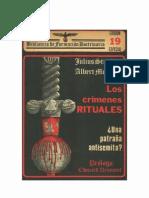 Los Crimenes Rituales - Julius Streicher - Albert Monniot