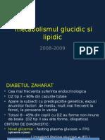 Metabolismul Glucidic Si Lipidic