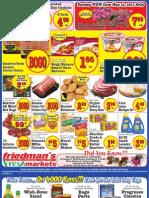 Friedman's Freshmarkets - Weekly Specials - May 9-15, 2013