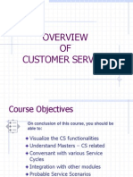 CS Overview