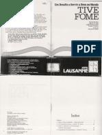 Tive Fome - Série Lausanne, Ed. ABU