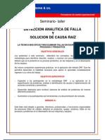 6 Deteccion Analitica de Falla y Solucion de Causa Raiz