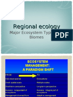 Regional Ecology