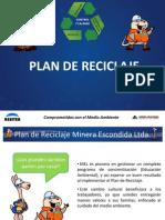 Plan de Reciclaje MEL FINAL Capacitación HSEC Contratistas