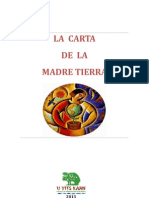 La Carta de La Madre Tierra (Folleto)