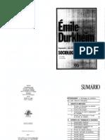 DURKHEIM Emile- Sociologia da religião
