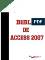 La Biblia de Access 2007