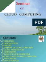 BASIC PPT ON CLOUD COMPUTING