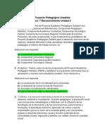 Act. 7 Reconocimiento Unidad 2 - Proyecto Pedagogico Unadista.docx