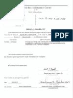 Robel Phillipos Criminal Complaint in Boston Bombing Case