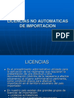 10.Licencias No Automaticas