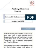 Personality Enhancement Program